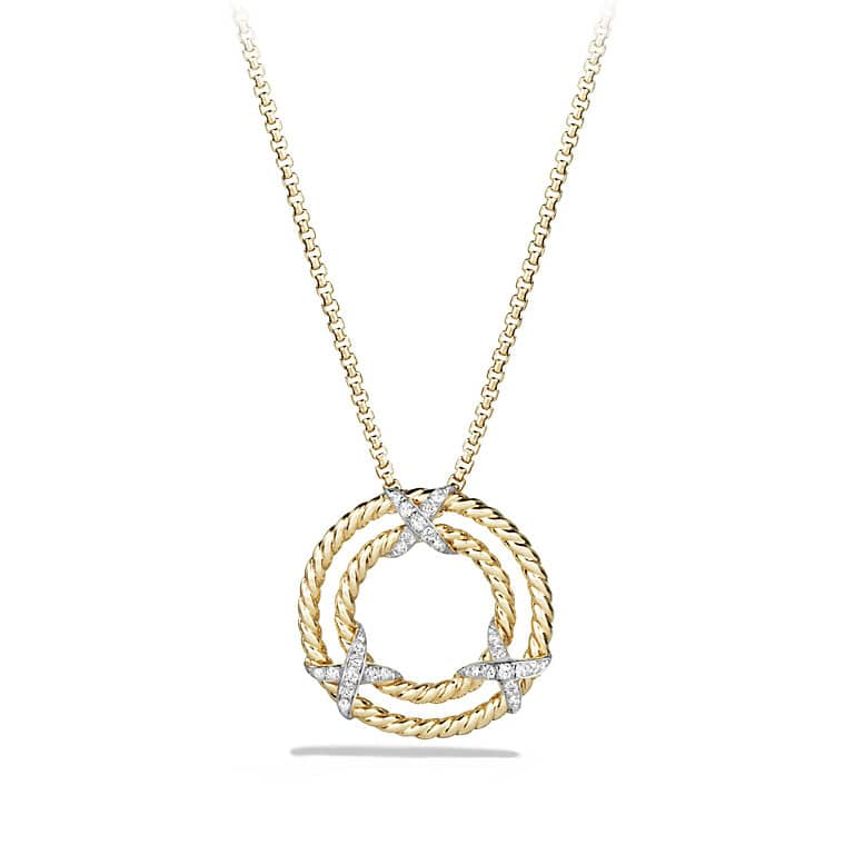 ef ufeff bf attina product necklace necklaceufeff clover circle bb blossom gold pendant