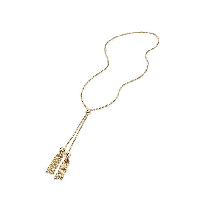 Renaissance Tassel Necklace in 18K Gold