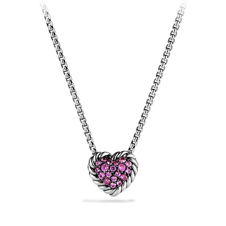 sapphire coeur gold loading zoom jaubalet necklace pendant pendants pink london jewellery s women