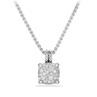 Chatelaine Pendant Necklace with Diamonds