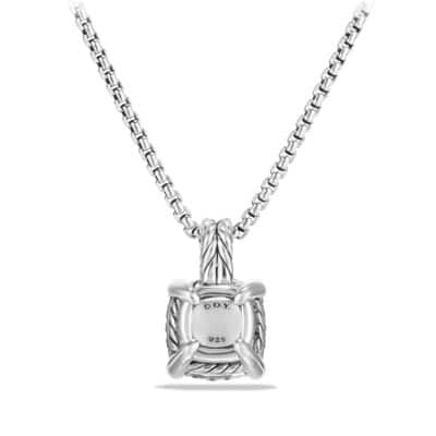 Chatelaine Pendant Necklace with Diamonds, 11mm