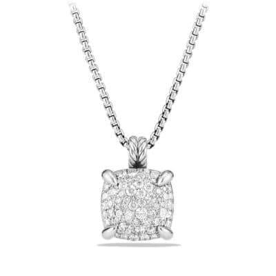 Chatelaine Necklace with Diamonds, 14mm