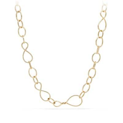 Continuance Large Chain Necklace in 18K Gold