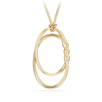 Continuance Pendant Necklace in 18K Gold