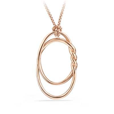 Continuance Pendant Necklace in 18K Rose Gold