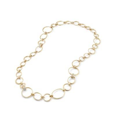 Crossover® Convertible Necklace with Diamonds in 18k Yellow Gold