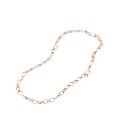 Continuance Medium Chain Necklace in 18K Rose Gold