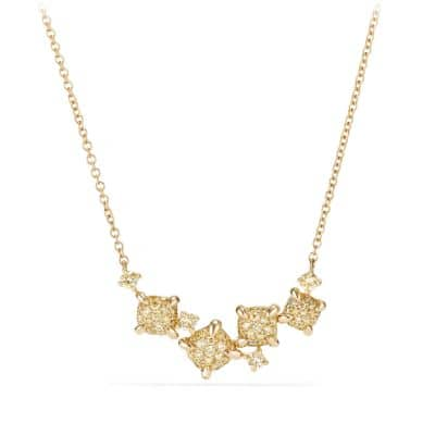 Precious Chatelaine® Necklace with Yellow Diamonds in 18K Gold