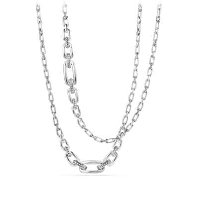 Wellesley Link™ Necklace with Diamonds