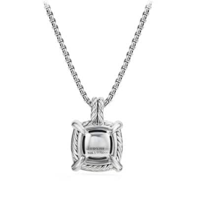 Chatelaine® Pendant Necklace with 18K Gold and Diamonds, 14mm