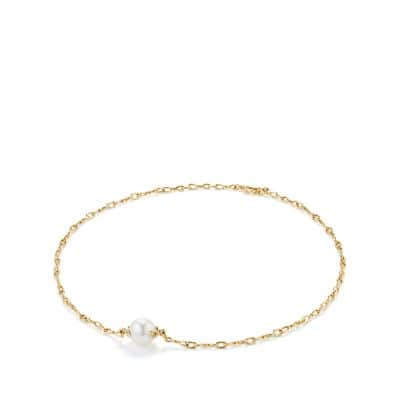 Continuance Pearl Short Necklace with Diamonds