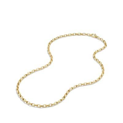 Chain Necklace in 18K Gold