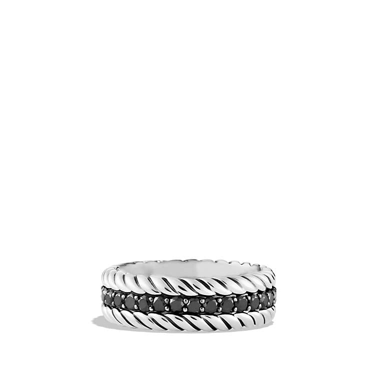 Pave Diamond Cable Classics Ring