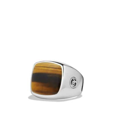 Signet Ring with Tiger's Eye