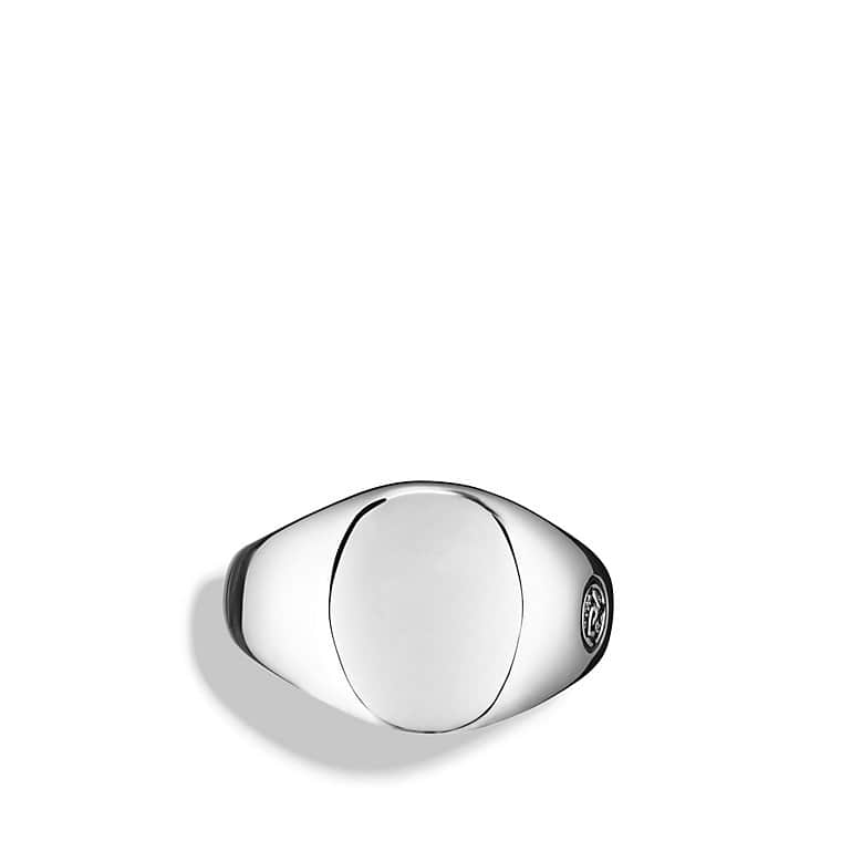 Heirloom Oval Signet Ring