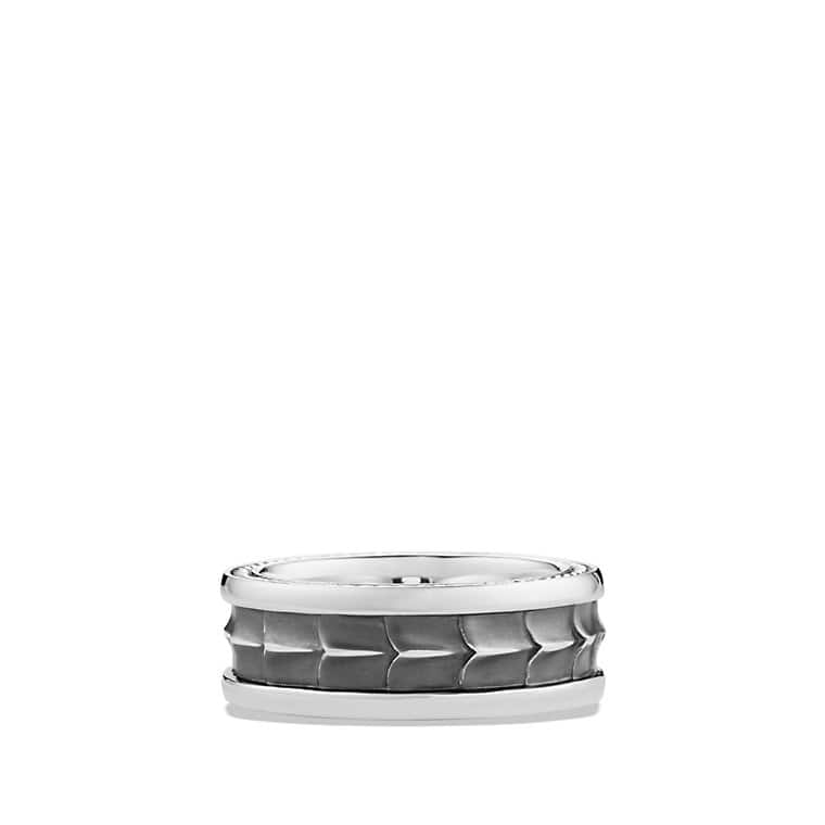 Armory Narrow Band Ring