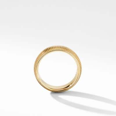 Sky Wide Band Ring in Gold