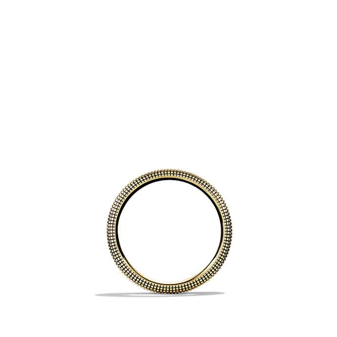 Sky Narrow Band Ring in Gold