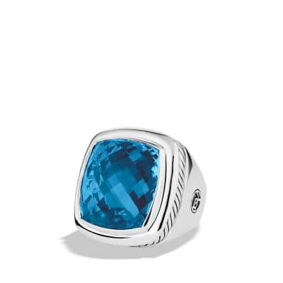 Albion Ring with Blue Topaz