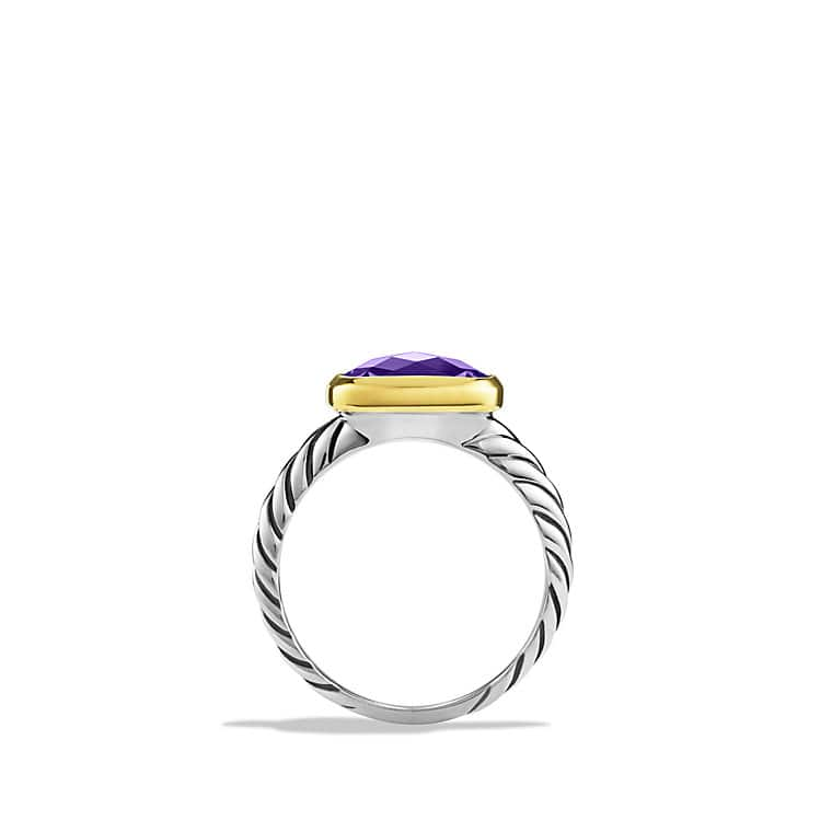 Noblesse Ring with Amethyst with Gold