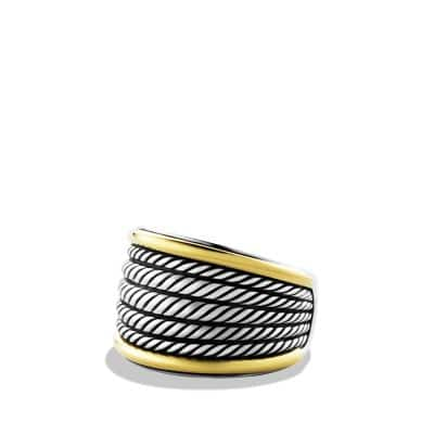 Wheaton Band Ring with 18K Gold