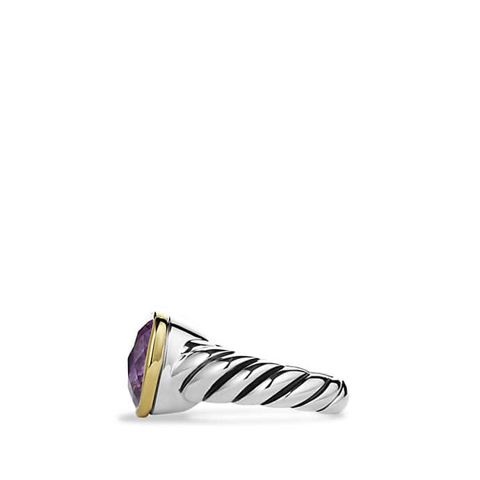 Noblesse Ring with Amethyst and Gold