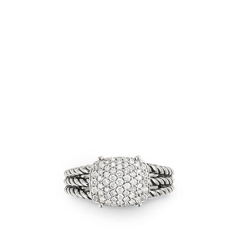Petite Wheaton Ring with Diamonds