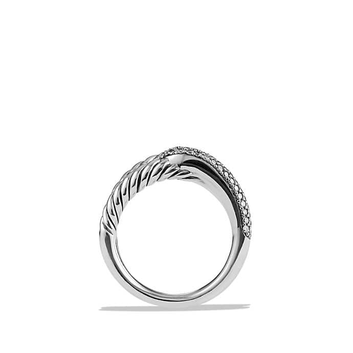 Labyrinth Single-Loop Ring with Diamonds