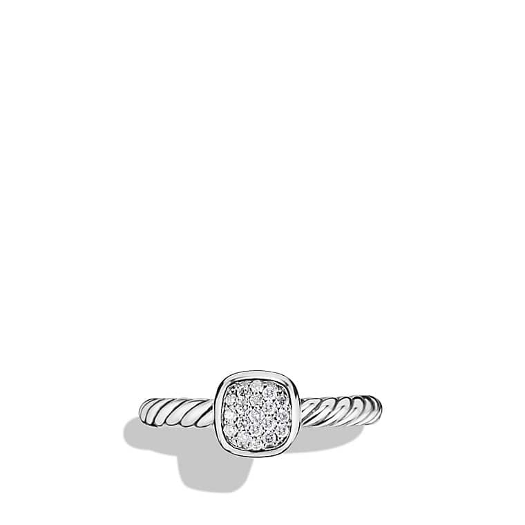 Cable Collectibles Ring with Diamonds
