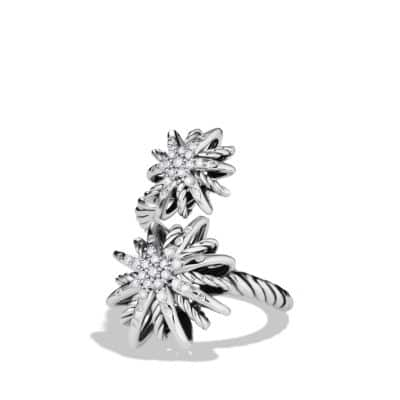 Starburst Open Ring with Diamonds thumbnail
