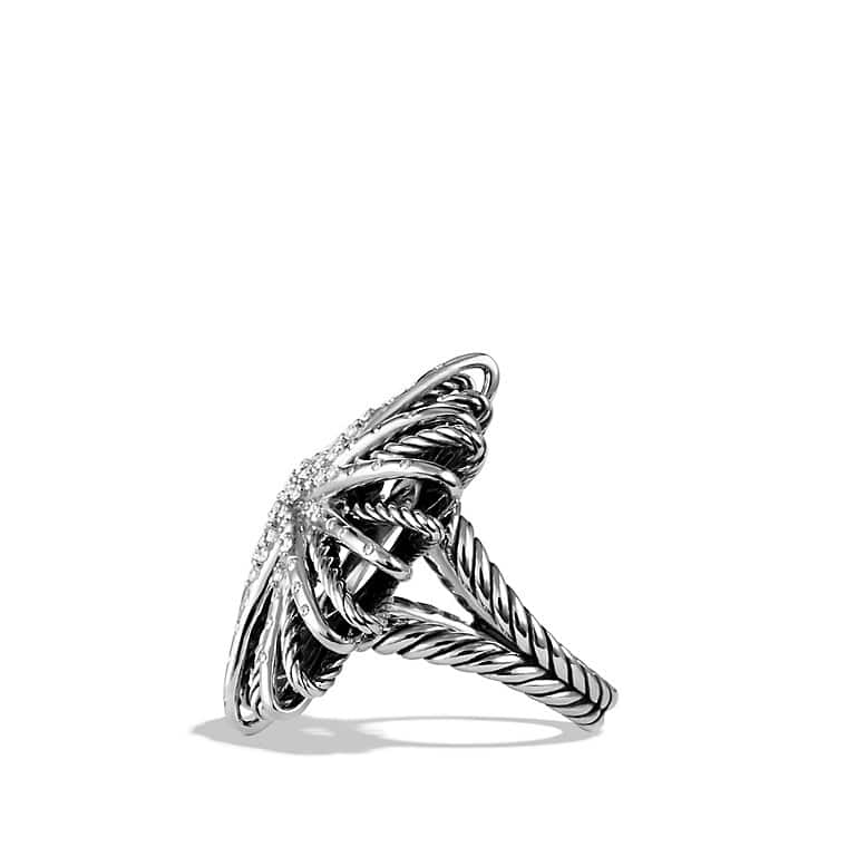 Starburst Ring with Diamonds