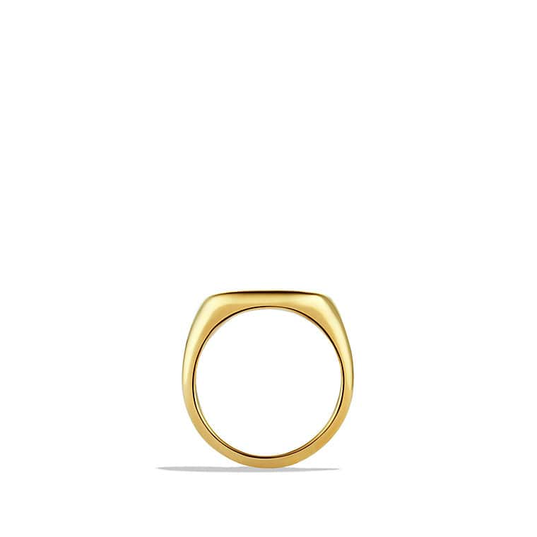DY Pinky Ring in 18K Gold