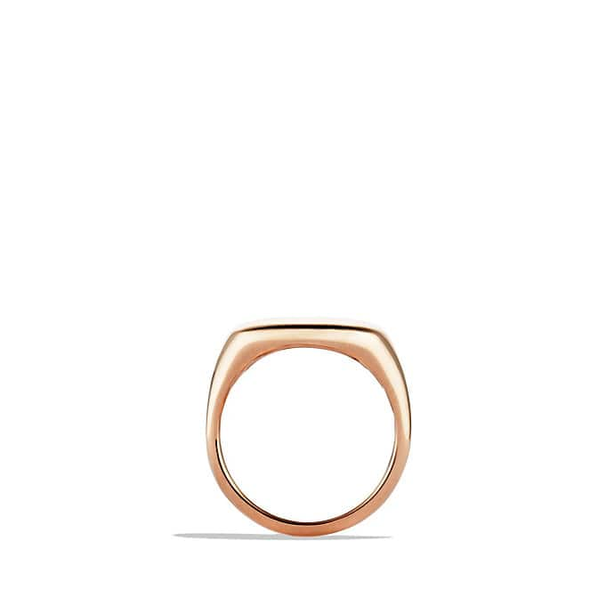 Pinky Ring in Rose 18K Gold