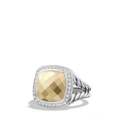 Albion Ring with Diamonds and 18K Gold