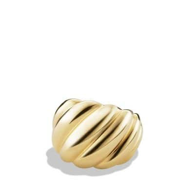 Hampton Cable Collection Ring in 18K Gold thumbnail