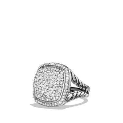 Albion® Ring with Diamonds, 17mm