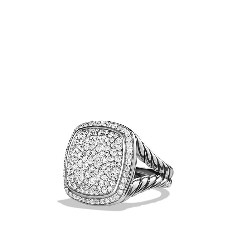 albion ring with diamonds 17mm