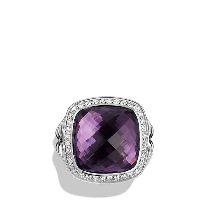 albion ring with diamonds 14mm