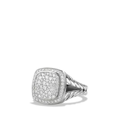 Albion® Ring with Diamonds, 11mm