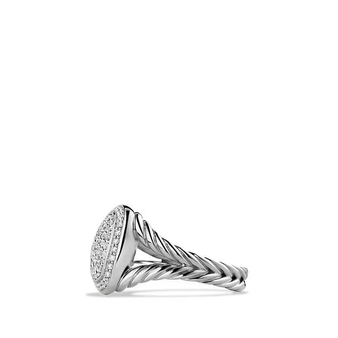 Albion Ring With Diamonds 11mm