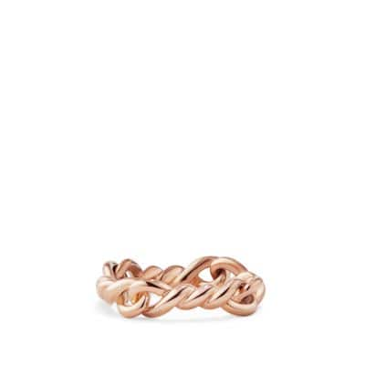 Continuance Ring in 18K Rose Gold, 5mm