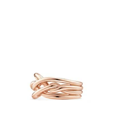 Continuance Ring in 18K Rose Gold, 11.5mm