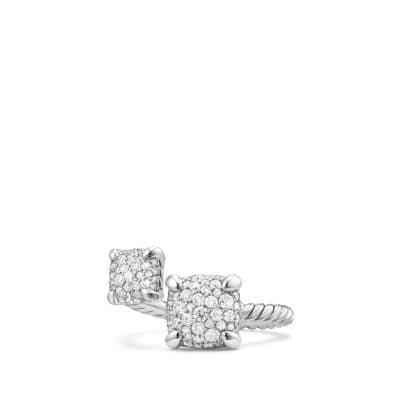 Chatelaine® Bypass Ring with Diamonds