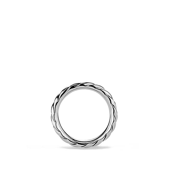 Cable Narrow Band Ring