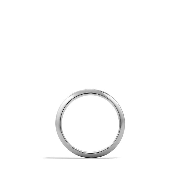 Knife-Edge Band Ring