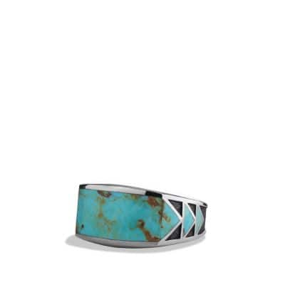 Southwest  Ring with Turquoise