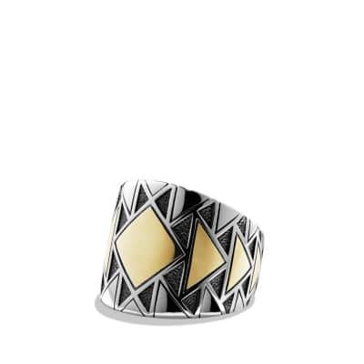 Southwest Ring with 18K Gold