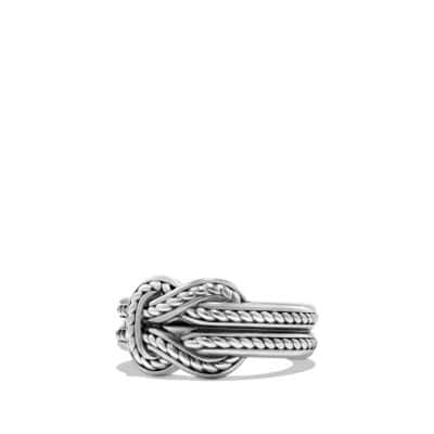 Maritime Reef Knot Band Ring