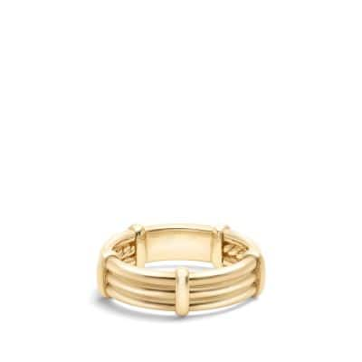 DY Astor Wrap Band Ring in 18K Gold, 6mm
