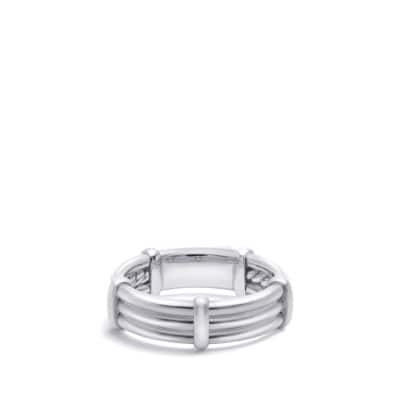 DY Astor Wrap Band Ring in Platinum, 6mm